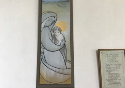 St Non and David by Deborah Withey